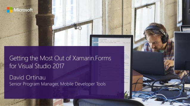 Xamarin: Anything you can do in Objective-C, Swift, or Java, you can do in C# and Visual Studio Native user interface High...