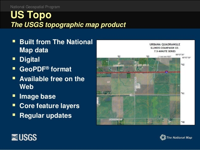U S G S  and National Open Data