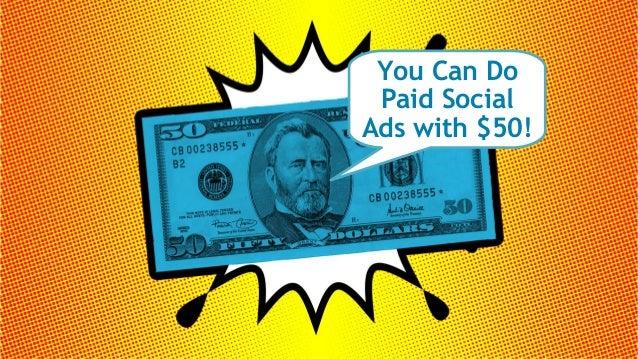 #socialPPCHacks @larrykim Why Paid Social Ads ?