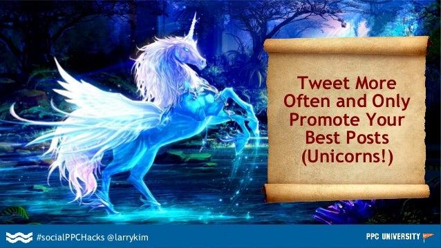 Paid Social Media Hunger Games #socialPPCHacks @larrykim