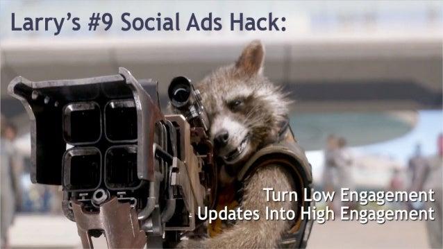 Precise Ad Targeting Boosts Engagement Rate #socialPPCHacks @larrykim