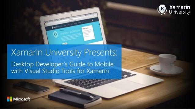Principal Program Manager Xamarin University @marksm github.com/markjulmar