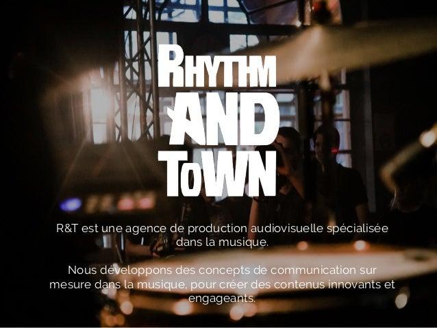 R&T est une agence de production audiovisuelle spécialisée dans la musique. Nous développons des concepts de communication...