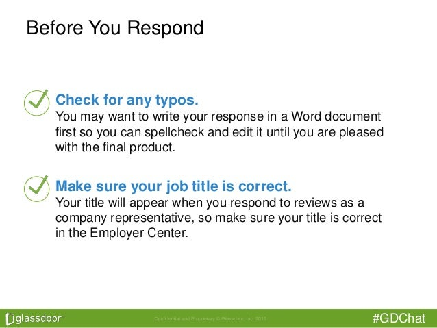 How To Respond To Negative Reviews On Glassdoor