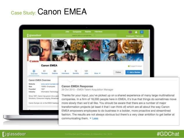 #GDChat Case Study: Canon EMEA