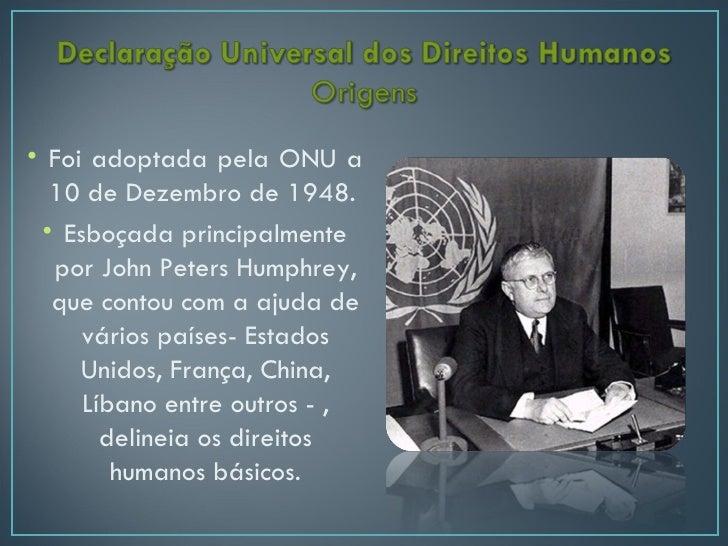 Declaracaouniversaldosdireitoshumanos Slide 3