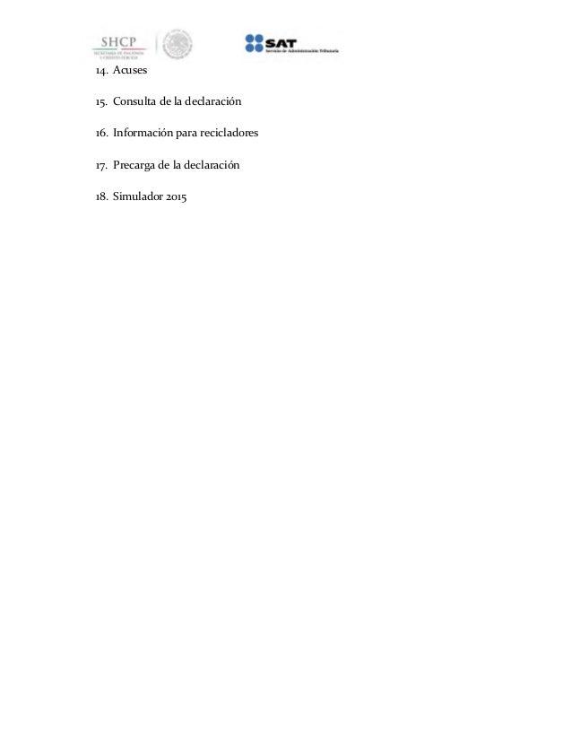 Manual para declarar ventas con factura y al público en general del Régimen de Incorporación Fiscal en Mis cuentas Slide 3