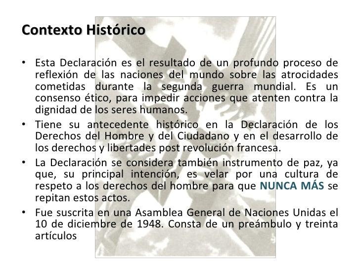 Declaracion ddhh Slide 2