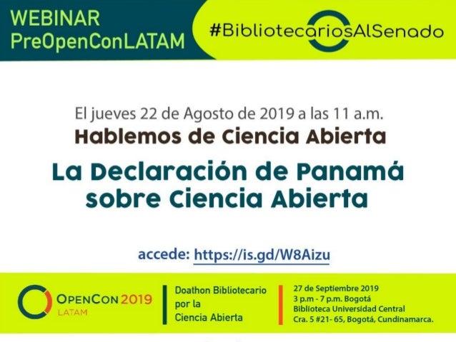 En 2018, activistas y académicos de América Latina, entre los que se encontraban tres bibliotecarios, se reunieron para tr...
