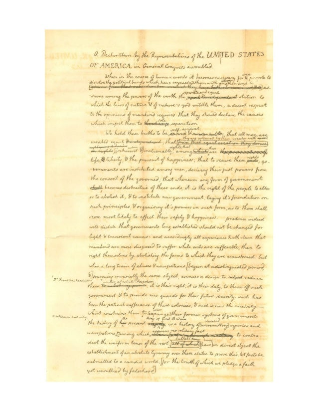the effectiveness of thomas jeffersons addressing of the declaration of independence On july 4, 1776, the united states congress approved the declaration of independence its primary author, thomas jefferson, wrote the declaration as a formal explanation of why congress had voted on july 2 to declare independence from great britain, more than a year after the outbreak of the american revolutionary war, and as a statement announcing that the thirteen american colonies were no.