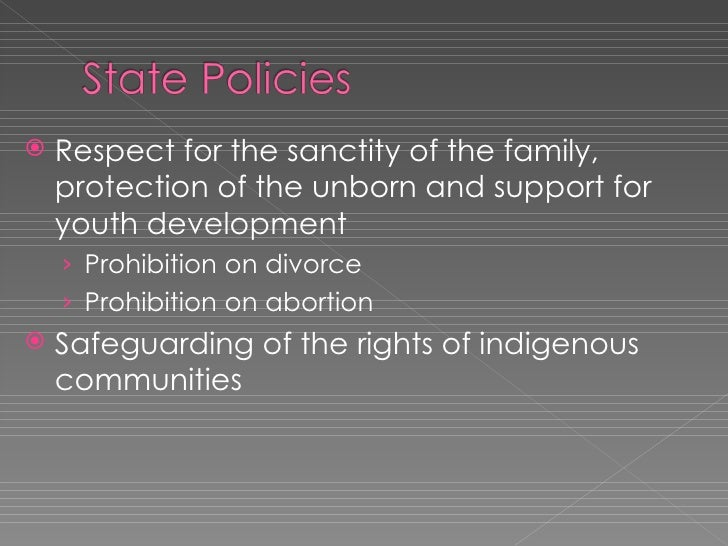 Decleration Of Principles State Policies
