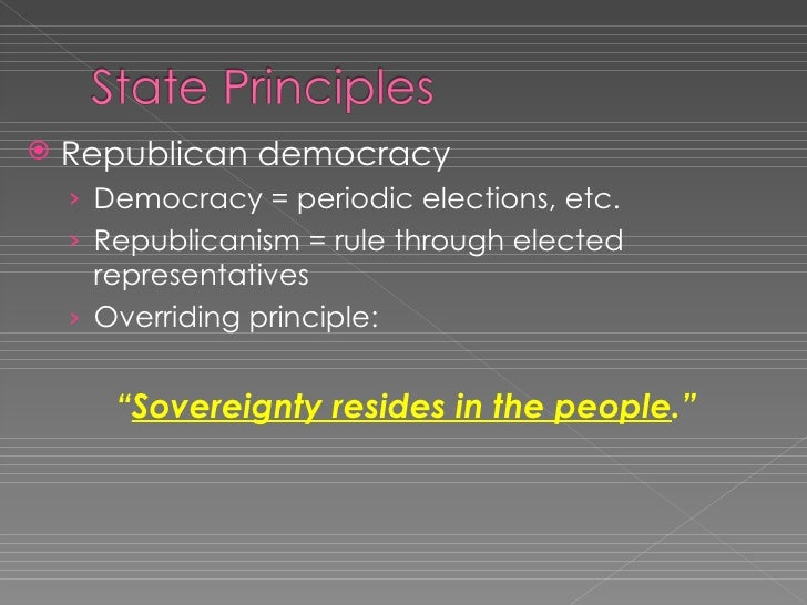 state principles and policies In this essay we will discuss about the directive principles of state policy according to indian constitution essay # 1 introduction to directive principles of state policy: directive principles are the prominent and unique characteristic of indian constitution influenced by the irish constitution of 1937 the constitutional fathers of the indian constitution incorporated these principles [.
