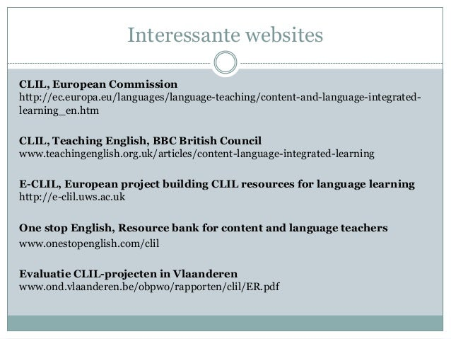 content language integrated learning essay Content language integrated learning #clil #steam #stem  you just clipped your first slide clipping is a handy way to collect important slides you want to go back to later.