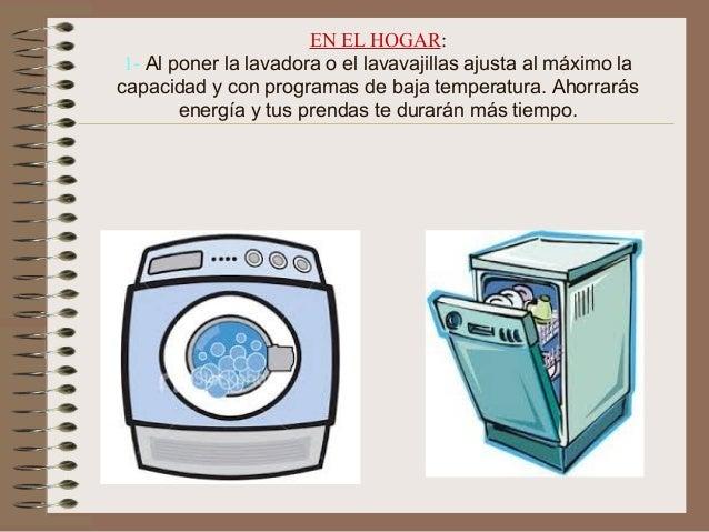 Dec logo ahorro energ a paula l for Mueble para lavadora y lavavajillas