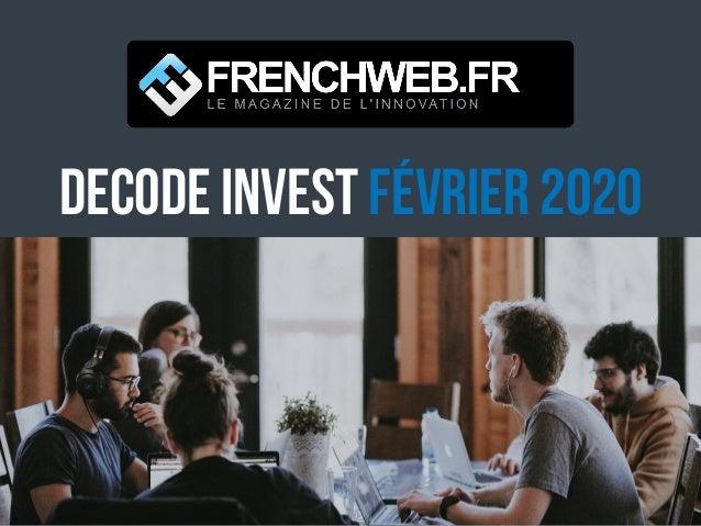 DECODE Invest Février 2020