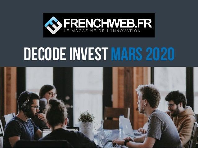 DECODE Invest MARS 2020