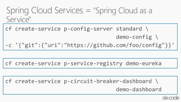 マイクロサービスに必要な技術要素はすべてSpring Cloudにある #DO07