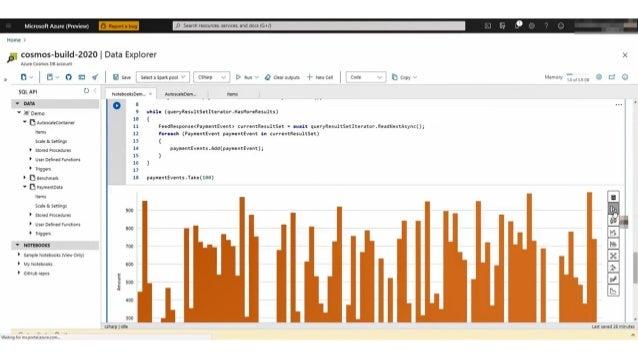  Azure Cosmos DB は、 10 ミリ秒未満の読み取り/書き込み レイテンシを提供し、オペレーショナル ワークロードに最適化  99.999% の高可用性、スループット、 整合性の保証  Azure の全リージョンにわたる、 ...