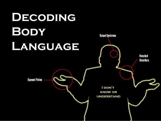 Reading male body language