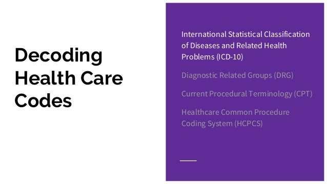how hippa icd cpt and hcpcs Icd-10-cm/pcs the next generation of coding and healthcare common procedure coding system (hipaa)-covered entities icd-10-cm.