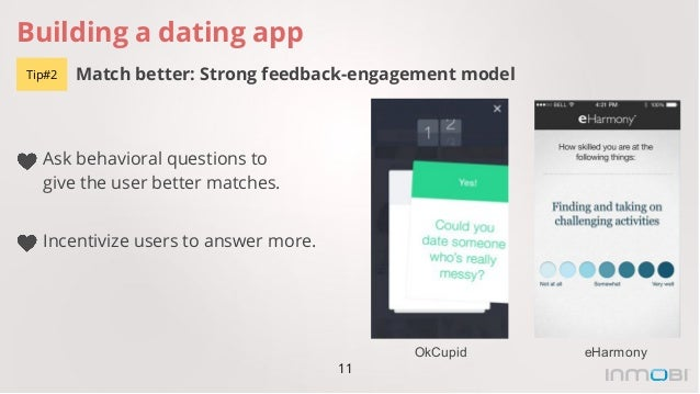 Dating app answer questions