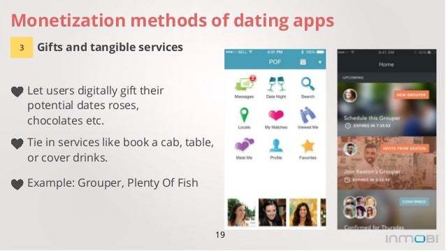 Dating apps monetization