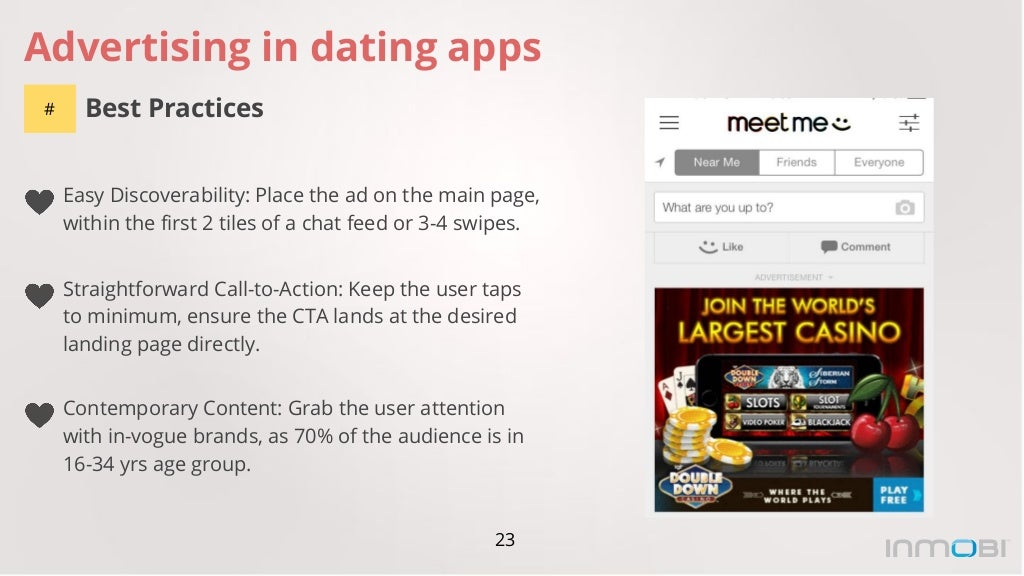 dating app ads Victoria