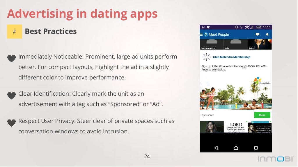 Dating app advertised on pandora