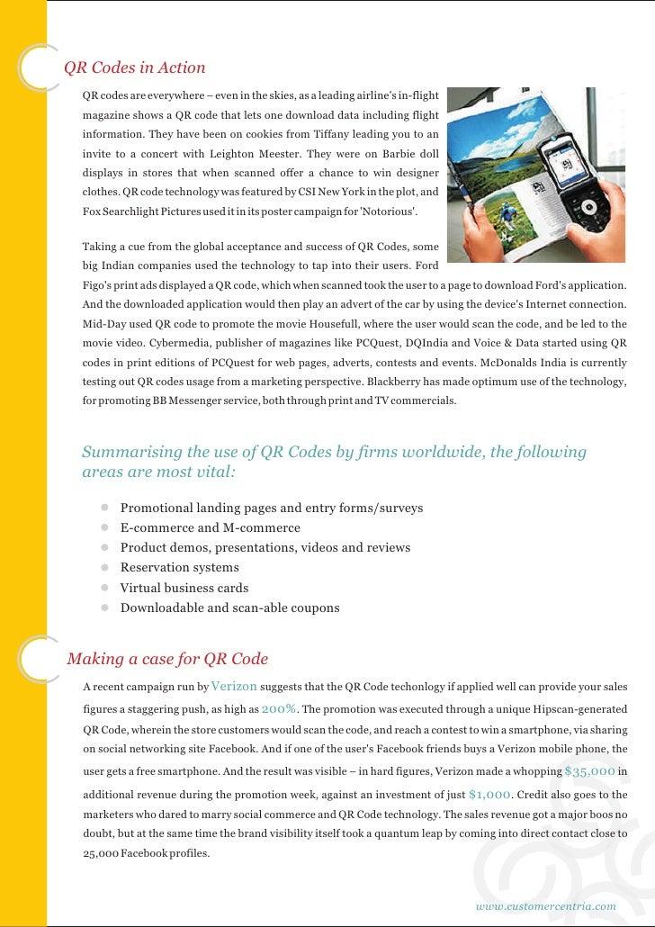 QR Codes: Transforming Consumer-Brand Interactions Slide 3