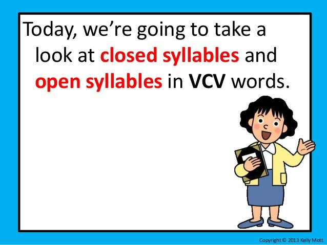 Decoding VCV unit 1 lesson 1 – Open and Closed Syllables Worksheets