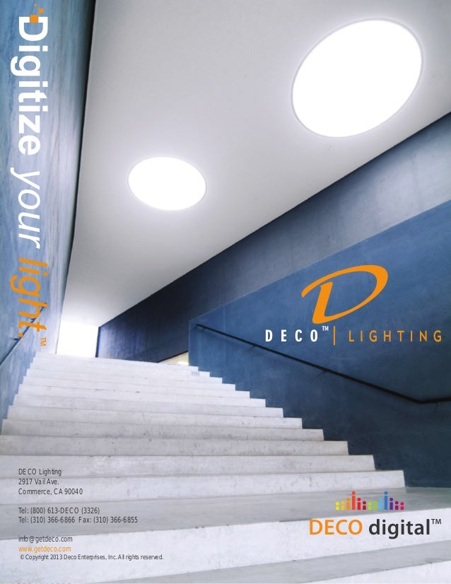 deco lighting leading manufacturer of commercial industrial led li
