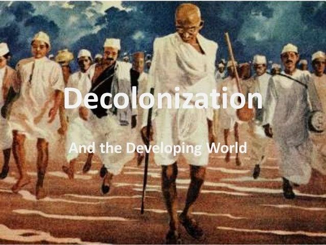 decolonization essays