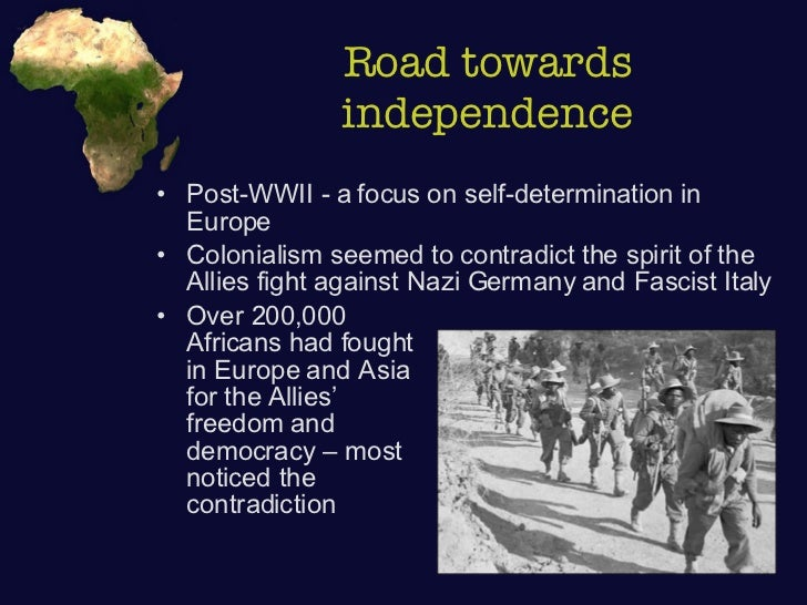 the challenges of decolonization Decolonization of africa 1 decolonization of africa the decolonization of africa followed world war ii as colonized peoples agitated for independence and colonial.