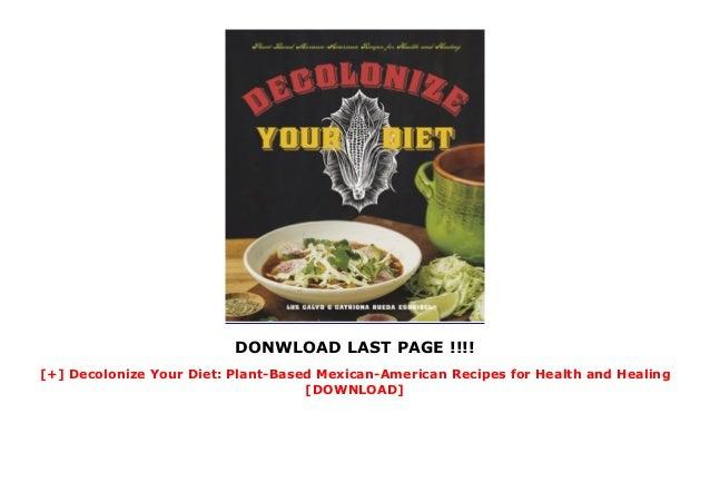 decolonize your diet plants