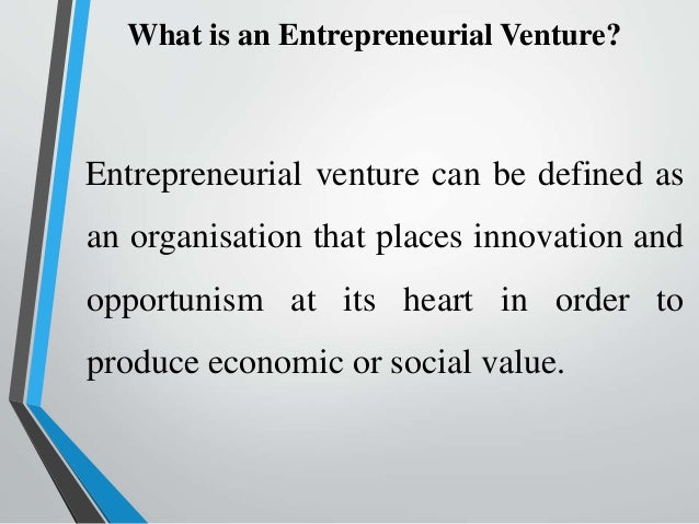 what are the differences between entrepreneurial ventures and small businesses Such entrepreneurial ventures target high returns with an equally high level of   there is a fine line between being a small business (sb) owner and an  a lot in  common—but there are distinct differences that set them apart.