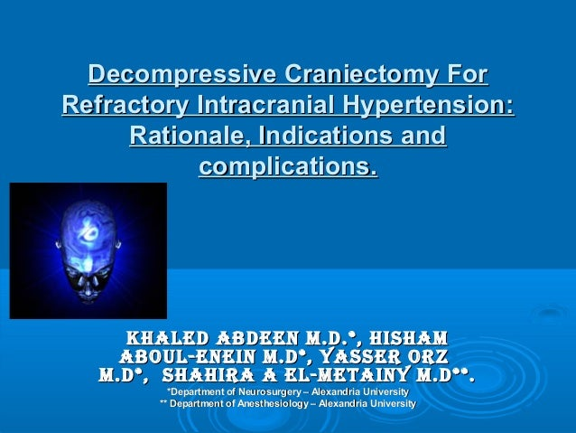 decompressive craniectomy final