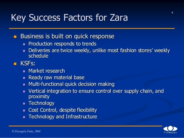 zara success in vertical integration These massive data forms all departments kpi to complete the vertical integration principle axe inside zara the massive data integration zara successful business.