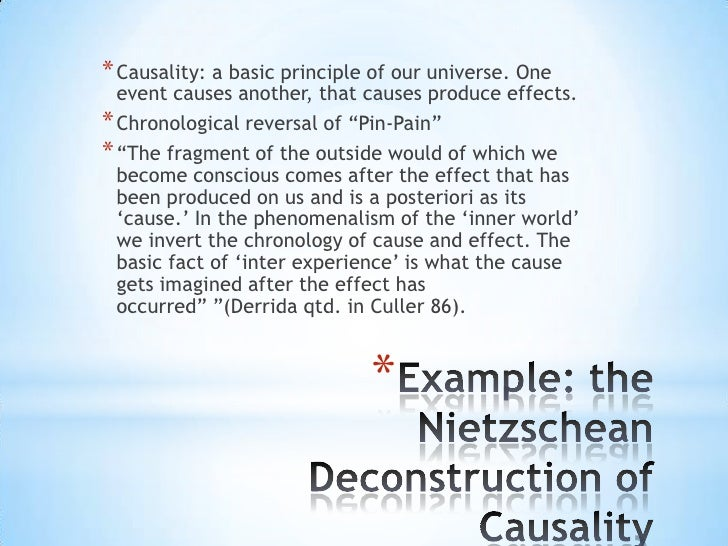 * Causality: a basic principle of our universe. One  event causes another, that causes produce effects.* Chronological rev...