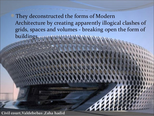 Pioneers Of Modern Architecture deconstructive architecture and its pioneer architects