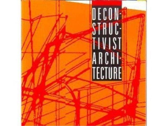 Deconstructivism by Ar. M. Senthil