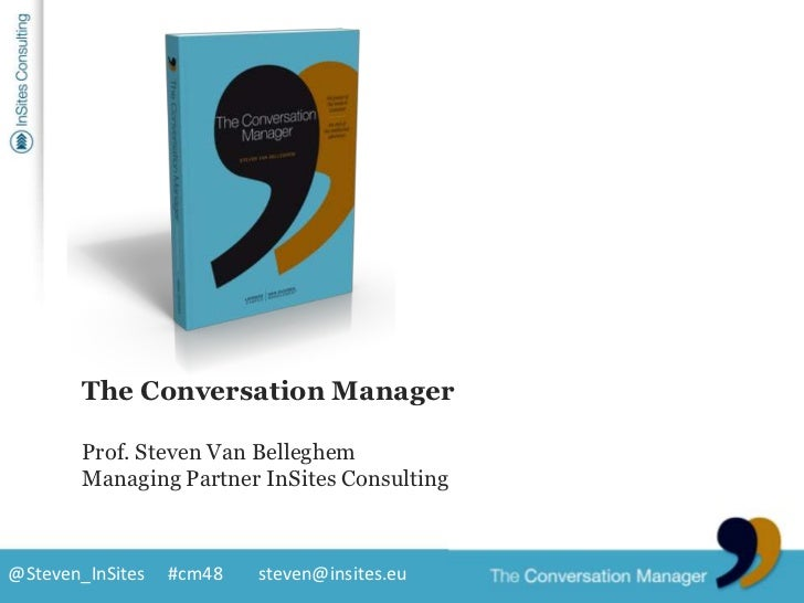 """""""This is the new conventional wisdom. Use it or lose!""""<br />Seth Godin<br />author Purple cow<br />@Steven_InSites<br />Th..."""