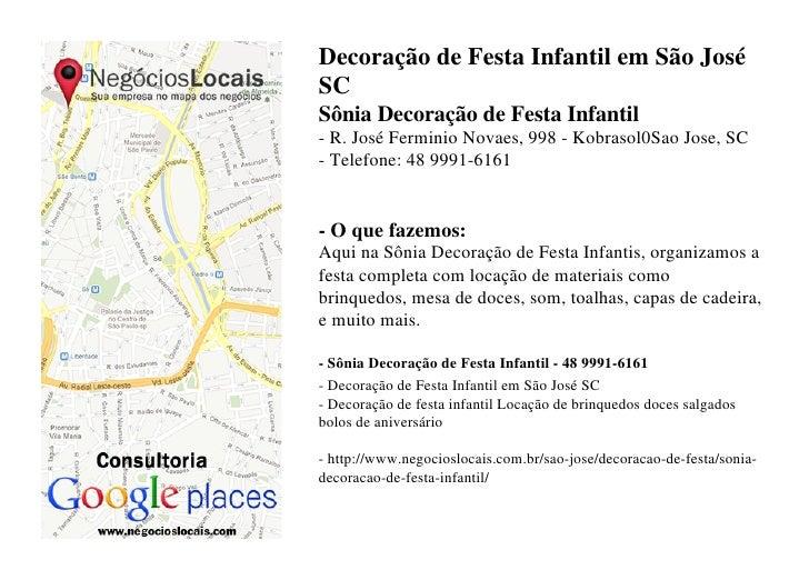 Super Decoração de Festa Infantil em São José SC - (48) 9991-6161 PL98