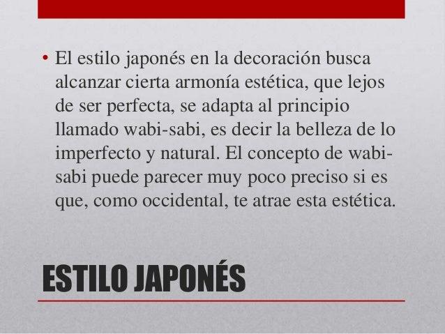Decorar al estilo japon s paola karina fagil - Equilibrio en japones ...