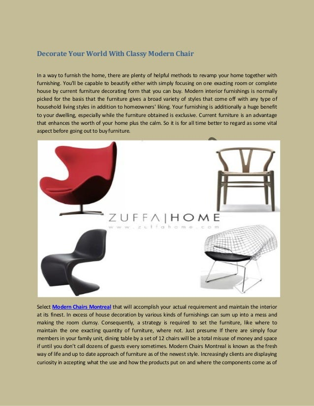 classy chair logo design. Decorate Your World With Classy Modern Chair In a way to furnish the home  your world with classy modern chair