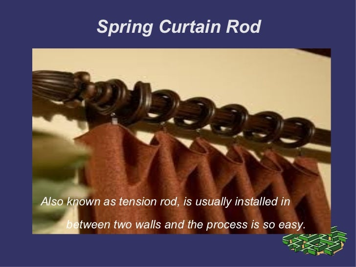 Decorative Curtain Rods