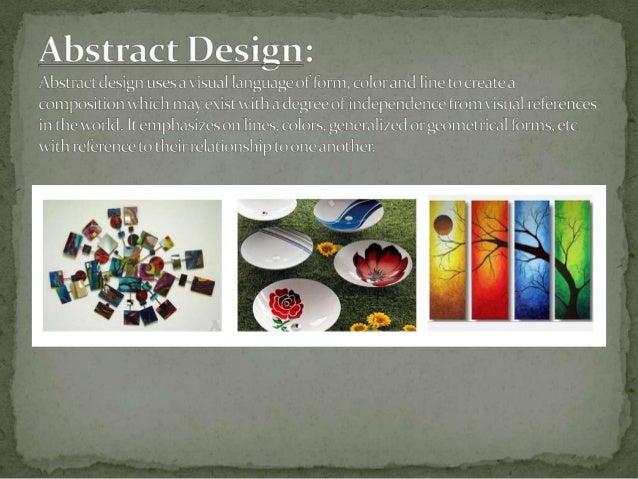 KINDS OF DECORATIVE DESIGNS