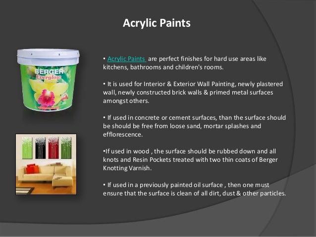 Perfect Acrylic Paints ...