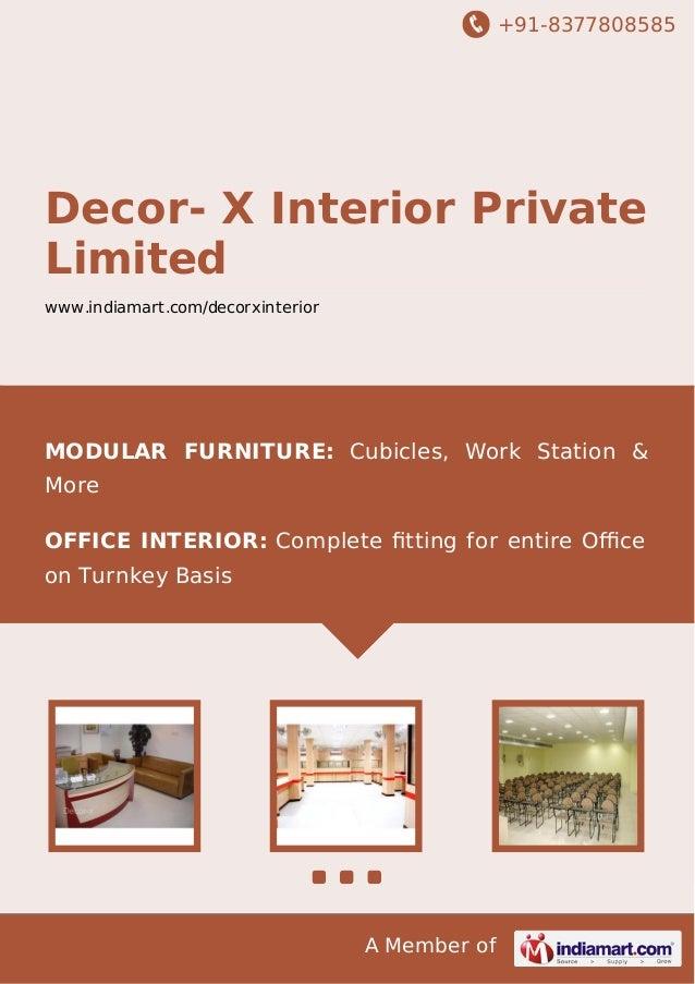 Decor x interior private limited kolkata modular furniture for Tile decor international pvt ltd