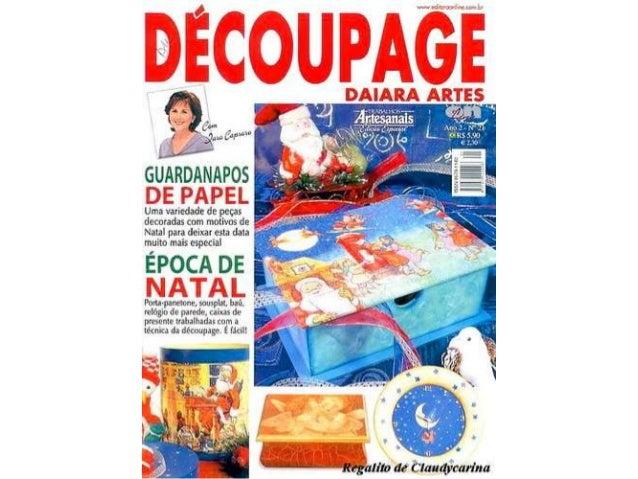 Decoupage daiara artes
