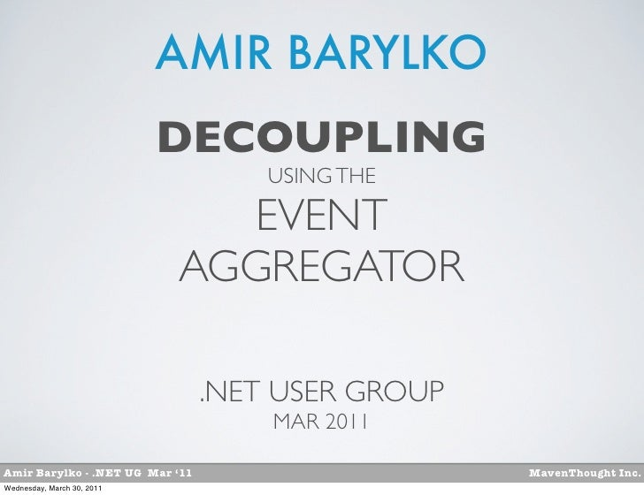 AMIR BARYLKO                            DECOUPLING                                     USING THE                          ...